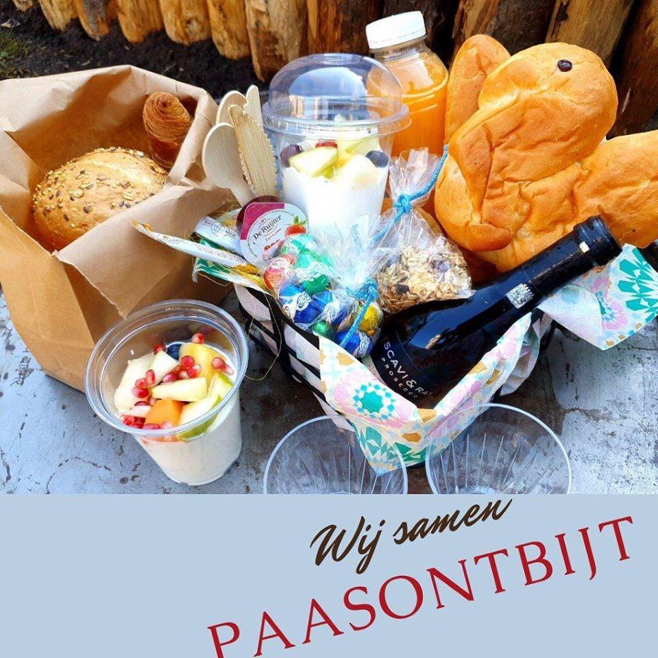 paasontbijt catering aan huis op locatie