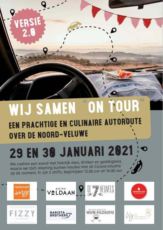 Wij Samen On Tour 2.0 Flyer