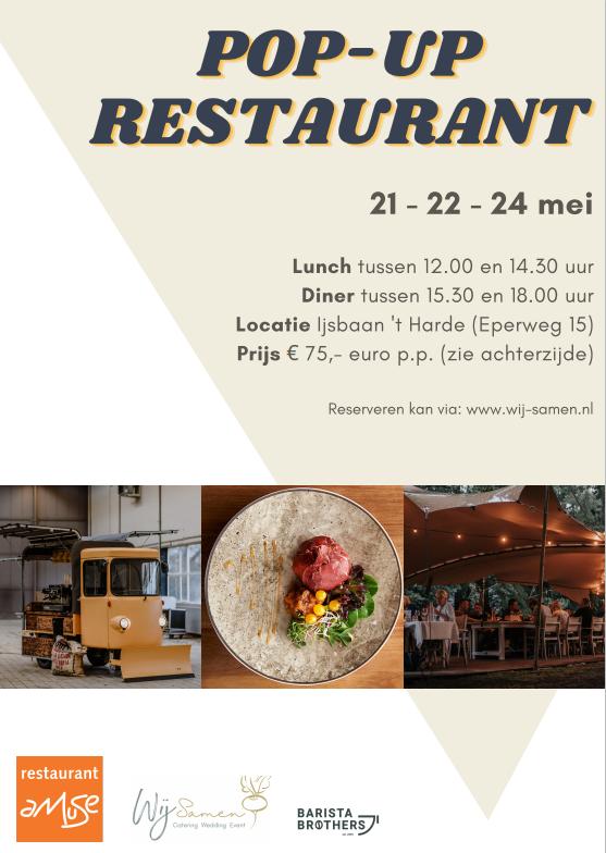 Pop-up restaurant